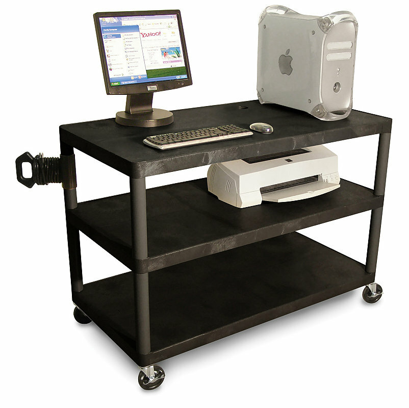 Details of LUXOR 3-Shelf Extra Wide Workstation
