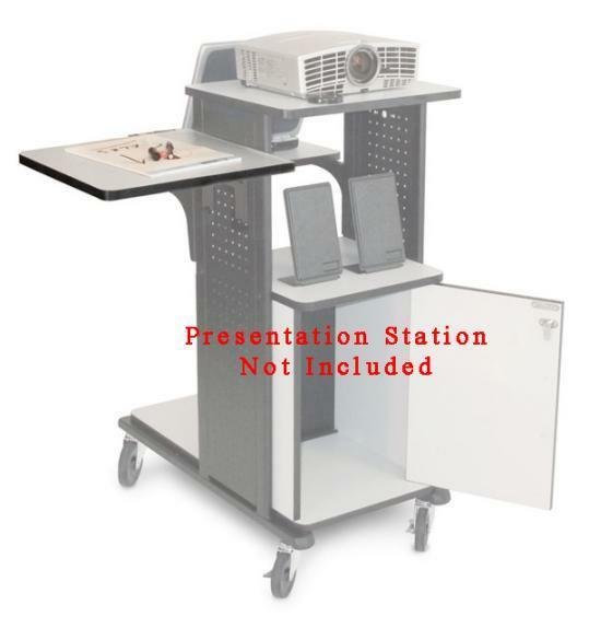 Details of Wilson WPS4-SS Accessory Side Shelf for WPS4 Presentation Stations