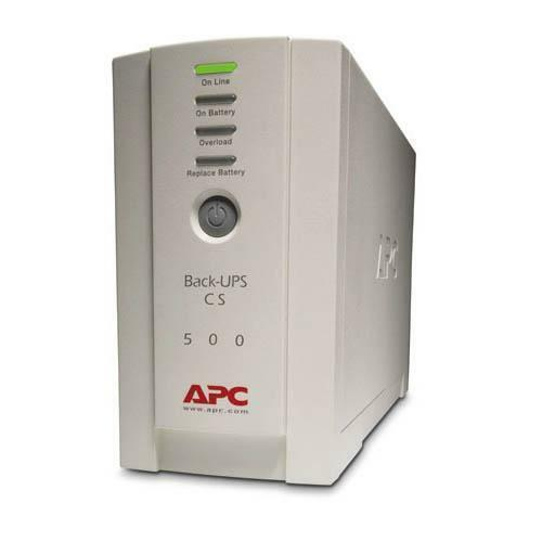 Details of APC Back-UPS CS 500VA