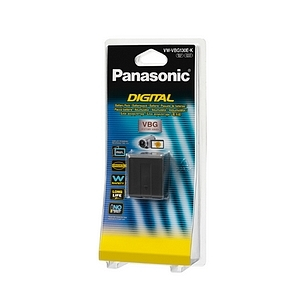 Details of Panasonic Lithium Ion Camcorder Battery