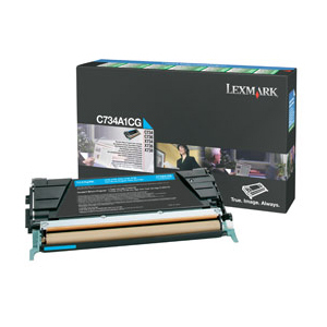 Details of Lexmark Cyan Return Program Toner Cartridge