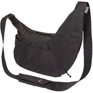 Details of Lowepro Passport Sling LP361400EU Carrying Case for Camera, Accessories - Black