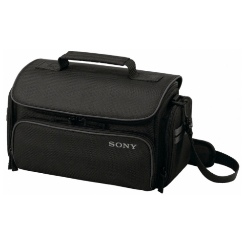 Details of Sony LCS-U30 Carrying Case for Camcorder, Camera, Accessories - Black