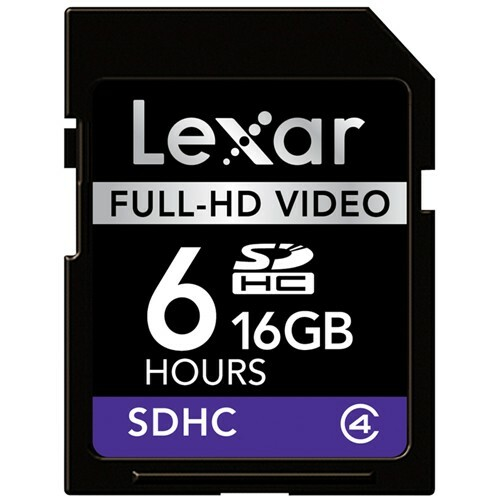 Details of Lexar Media 16GB Secure Digital High Capacity (SDHC) Card