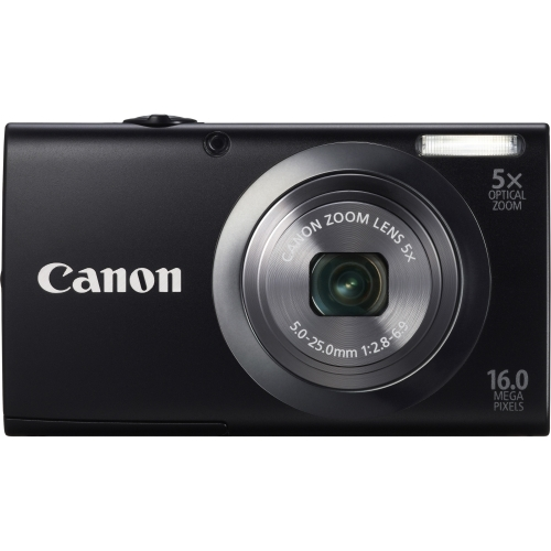 Details of Canon PowerShot A2300 16 Megapixel Compact Camera - Black