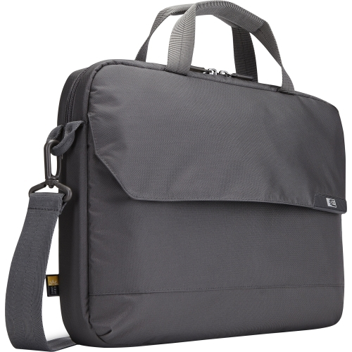 "Details of Case Logic MLA-116 Carrying Case (Attach�) for 15.6"" Notebook, Tablet PC, iPad - Gray"