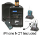Califone PA419-WS Wireless Portable PA System Package
