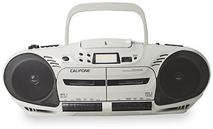 Details of Califone CD Cassette Player