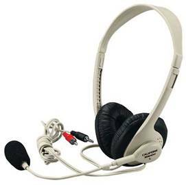 Details of Califone Multimedia Stereo Headphone/ Microphone - 3064AV