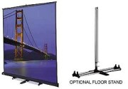 Da-Lite Floor Model C 10x10 Projection Screen  image