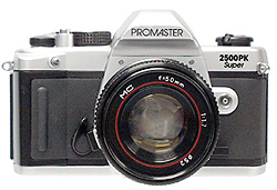Promaster 2500PK Super Zoom 35mm SLR Camera w/28-70 Zoom Lens image