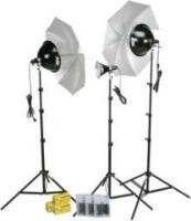 Smith-Victor KT800U 3 Light Thrifty Advanced Light Kit 401343 image