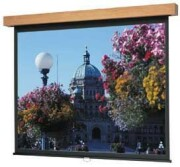"Da-Lite Designer Manual Lexington - Heritage Walnut Finish - 70"" x 70"" - High Power 96059 image"