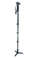 Bogen 560B monopod with video fluid head image