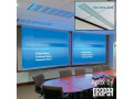 Draper Apex 6' High Contrast Grey Front Projection Screen-NTSC Video Format (4:3)