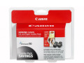 Canon PG-40/CL-41 Ink Cartridge & Photo Paper Combo Pack for Select Canon Printers (4 x 6/50 Glossy)