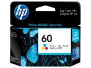 HP No. 60 Tri-Color Ink Cartridge  image