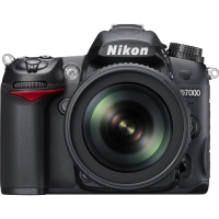 Nikon D7000 16.2 Megapixel Digital SLR Camera with Nikkor 18-105mm DX VR Lens image