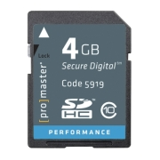Photographic Research High Speed 5919 4 GB Secure Digital High Capacity (SDHC)  image
