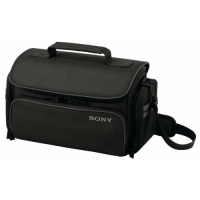 Sony LCS-U30 Carrying Case for Camcorder, Camera, Accessories - Black image