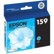 Epson UltraChrome 159 Ink Cartridge - Cyan  image