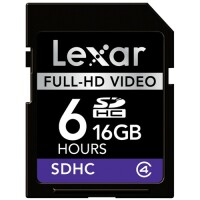 Lexar Media 16GB Secure Digital High Capacity (SDHC) Card image