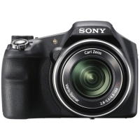 Sony Cyber-shot DSC-HX200V 18.2 Megapixel 3D Panorama Bridge Camera - Black image