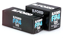 Ilford FP4 Plus 120 B&W 125 Film image