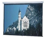 Da-Lite Model C 84x84 Matte White Wall Screen  image