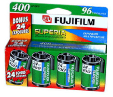 Fuji 35mm ISO400 4 Pack Film image