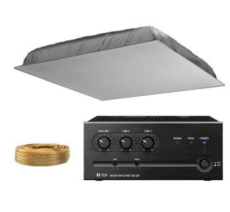 Camcor Com Dukane Av7420 Ceiling Speaker Amp Desktop Amp