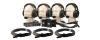 Anchor 2-Ch Portacom 4 Headset Pkg w/Cables