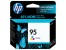 HP 95 Tri-color Inkjet Print Cartridge with Vivera Ink