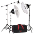 Smith Victor KT900 3 light 1250w mini boom kit
