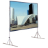 Draper Cinefold 218030 Portable Projection Screen with Heavy-Duty Legs