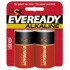 Eveready Size D Gold Alkaline General Purpose Battery