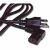 Cables To Go 14ft Universal Right Angle Power Cord