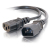 Cables To Go 3-Pin Power Extension Cable