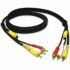 Cables To Go Value Series 4-in-1 RCA/S-Video Cable