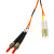 Cables To Go Fiber Optic Duplex Patch Cable With Clips
