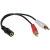 Cables To Go Value Series Audio Y-Cable