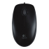 Logitech M100 Mouse - Optical Wired - Black