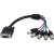 StarTech.com 1 ft Coax HD15 VGA to 5 BNC RGBHV Monitor Cable