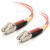 Cables To Go Fiber Optic Duplex Patch Cable -  LC Male - LC Male - 98.43ft - Orange
