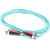 Cables To Go Fiber Optic Duplex Patch Cable  - ST Male Network - ST Male Network - 19.69ft - Aqua