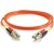 Cables To Go Fiber Optic Duplex Multimode Patch Cable with Clips - LC Male - LC Male - 13.12ft