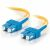 Cables To Go Fiber Optic Duplex Cable - SC Network - SC Network - 98.43ft