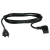 Cables To Go 6ft Universal Right Angle Power Cord