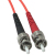 Cables To Go Fiber Optic Duplex Patch Cable - Plenum Rated