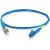 Cables To Go Fiber Optic Simplex Patch Cable - 9.84 ft - Blue